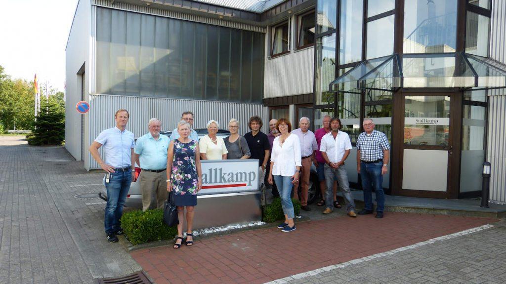 Betriebsbesichtigung, Stallkamp, ESTA GmbH, Wirtschaftsförderung, Kontaktpflege, Meinungsaustausch. Lokalpolitik