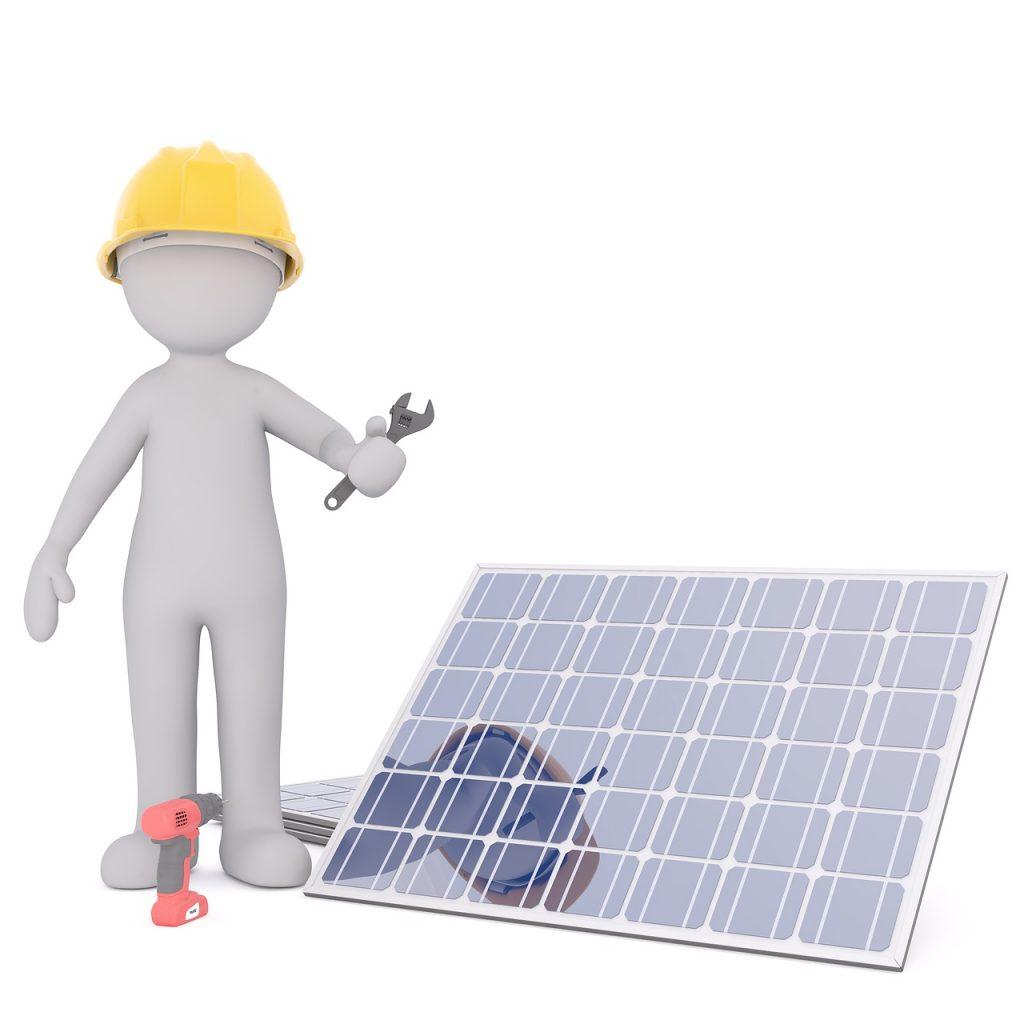 regenerative Energien, Energiekonzept, Energieerzeugung, Photovoltaik, Sonnenenergie